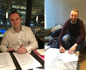 First Netive colleagues in London