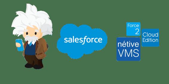 benefits of Nétive VMS and Saleforce
